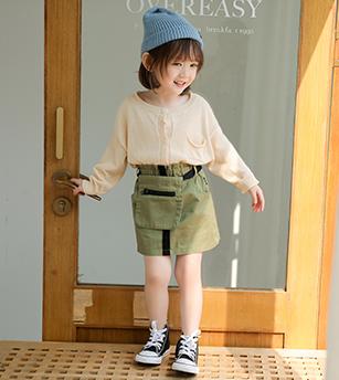 腰包小短裙